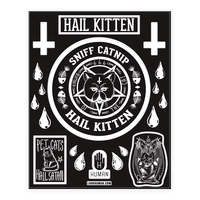 Sniff Catnip Hail Kitten Sticker