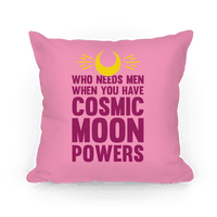 Who Needs Men When You Have Cosmic Moon Powers