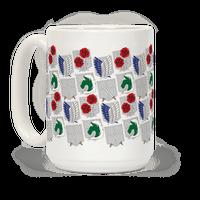 Attack On Titan Insignias Mug