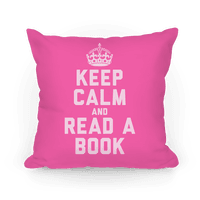 Keep Calm and Read A Book (Pink)