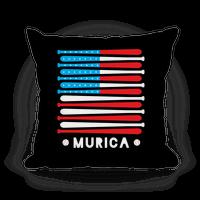 Baseball Murica Pillow