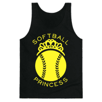 Softball Princess (Tank)