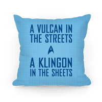 A Vulcan In the Streets (Blue)