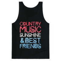 Country Music, Sunshine & Best Friends (Red White & Blue)