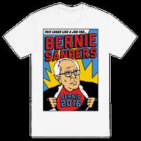 Super Hero Bernie Sanders 2016 Tee