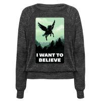 Winged Unicorn: I Want To Believe Parody