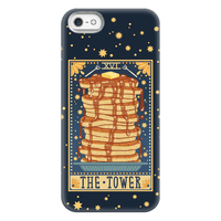 Tarot Card: The Tower (Of Pancakes) Phonecase