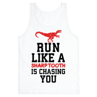 Run Like A Sharptooth Is Chasing You
