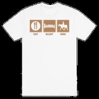 Eat, Sleep, Ride (Tan)