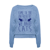Come To The Introvert Side We Have Cats