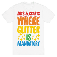 Arts and Crafts Where Glitter Is Mandatory