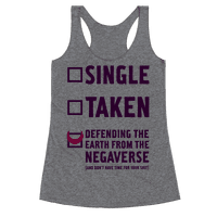 Single, Taken, Sailor Moon Racerback