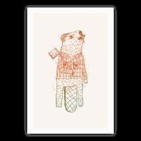 Beaver Lumberjack