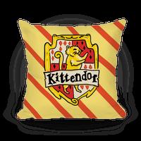 House Cats Kittendor Pillow