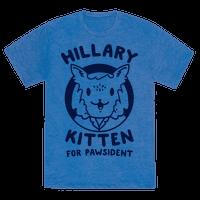 Hillary Kitten for Pawsident