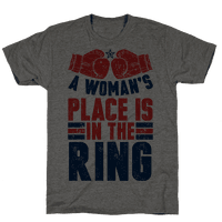 A Woman's Place Is In The Ring