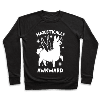Majestically Awkward Llamicorn Pullover
