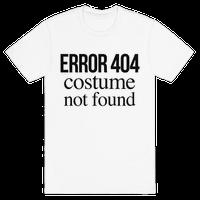 Error 404 Costume