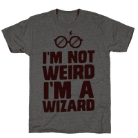 I'm Not Weird I'm a Wizard