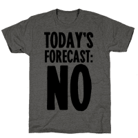Today's Forecast: NO