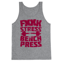 Fuck Stress Bench Press (Censored)