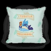 Tequila Mockingbird Pillow