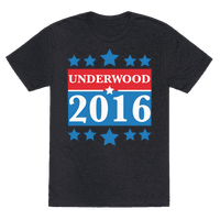 Underwood For President 2016 Tee