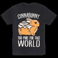 Cinnabunny Too Pure For This World Tee