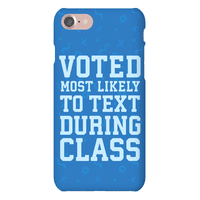 Voted Most Likely To Text During Class