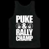 Puke And Rally Champ