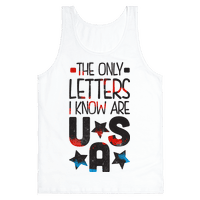 The Only Letters Are USA (Tank)