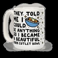 I Became a Beautiful Pork Cutlet Bowl