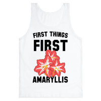 First Things First Amaryllis