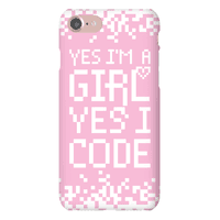 Yes I'm A Girl Yes I Code
