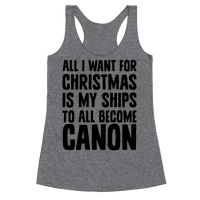 All I Want For Christmas Is My Ships To All Become Canon