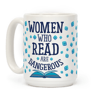 Women Who Read Are Dangerous (Blue)