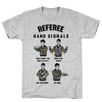 Funny Referee Hand Signals