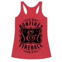 Bonfires And Fireball Racerback