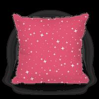Pink Twinkling Star Sparkles Pattern