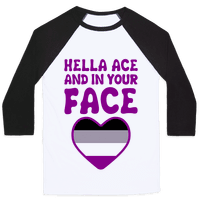 Hella Ace And In Your Face Baseball