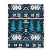 Hogwarts Ugly Christmas Sweater Pattern: Ravenclaw