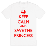 Keep Calm And Save The Princess