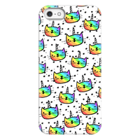 Caticorn Pattern Phone Case