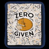Zero Fox Given Blanket