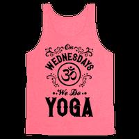 On Wednesday We Do Yoga