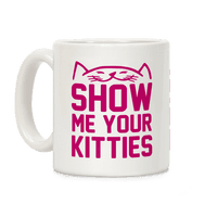 Show Me Your Kitties Magenta Font