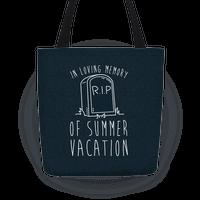 In Loving Memory Of Summer Vacation