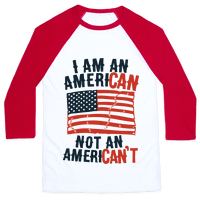 I Am an American Not an American't