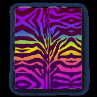 Rainbow Zebra Blanket