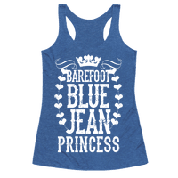 Barefoot Blue Jean Princess Racerback